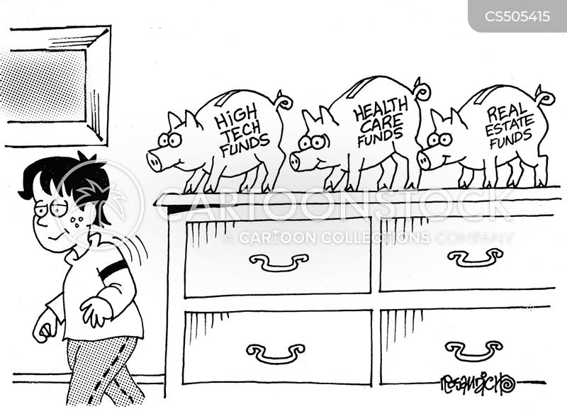 investment funds cartoon