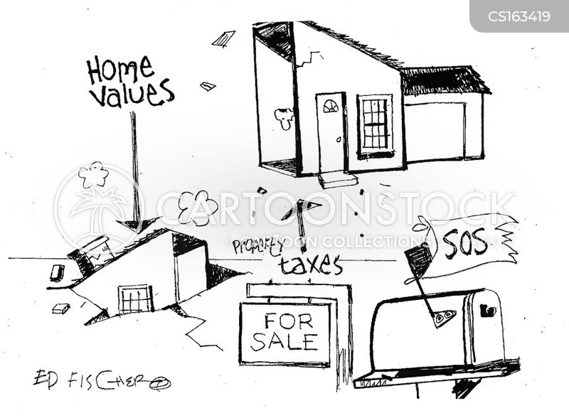 House Values Cartoon 4 Of 4