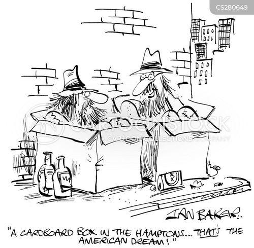 hamptons cartoon