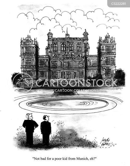 housed cartoon
