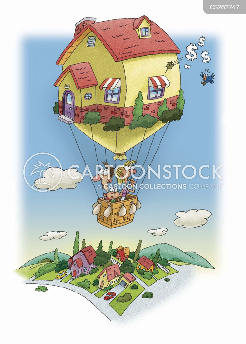 real estate bubble cartoon