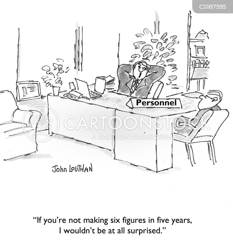 job searchers cartoon