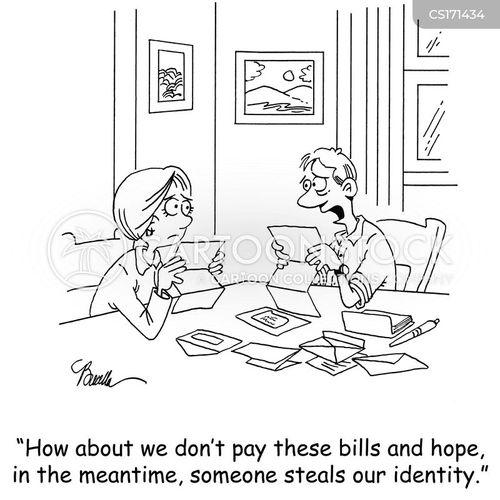 money problem cartoon