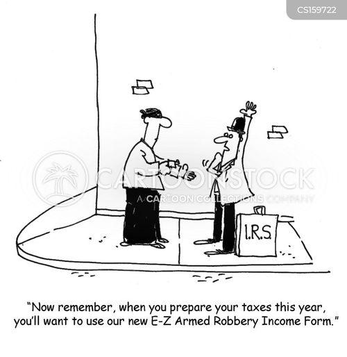 tax refunds cartoon