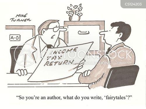 income tax return cartoon