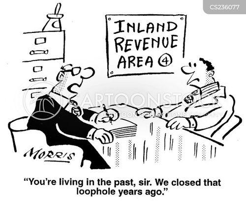 tax assessments cartoon