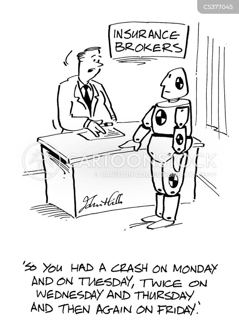 insurance brokers cartoon