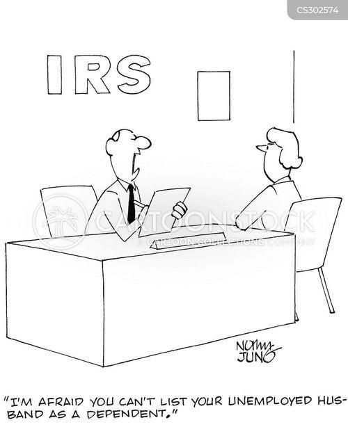 irs clerk cartoon