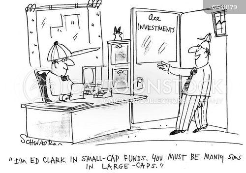 small cap cartoon