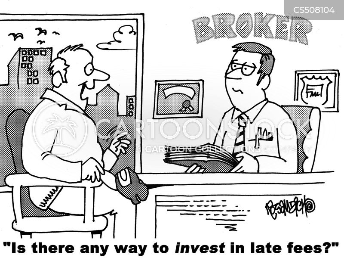 late fees cartoon