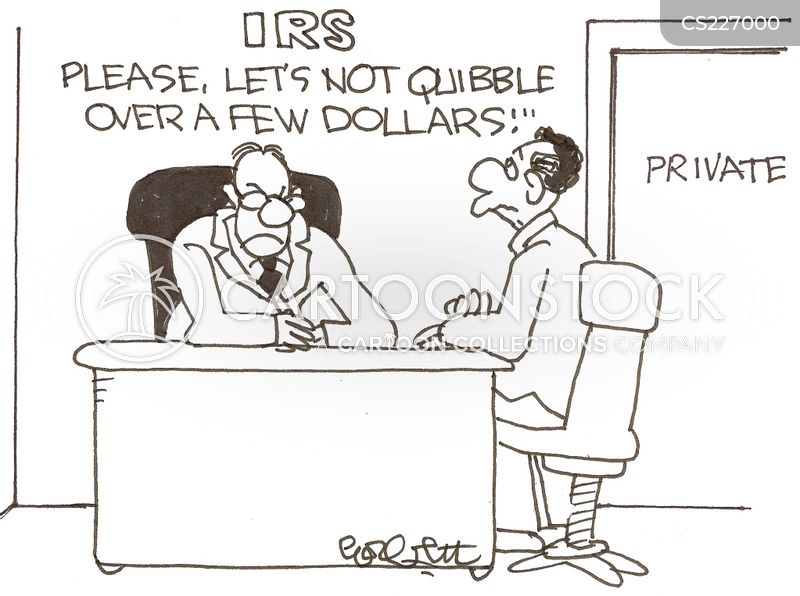 tax collection cartoon