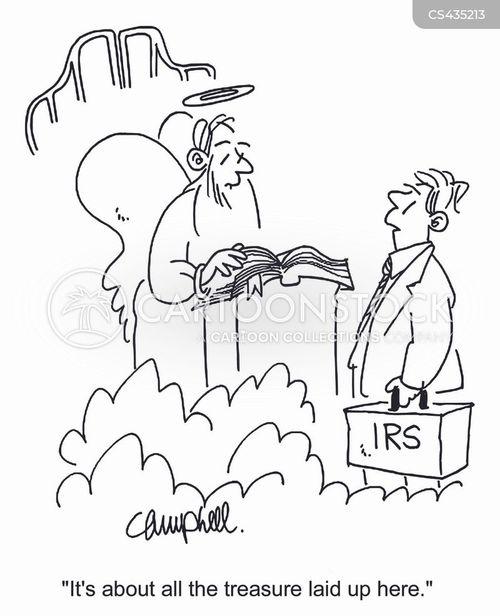 tax collector cartoon
