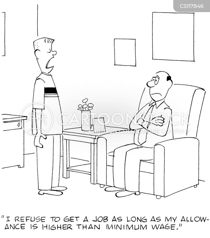 first jobs cartoon