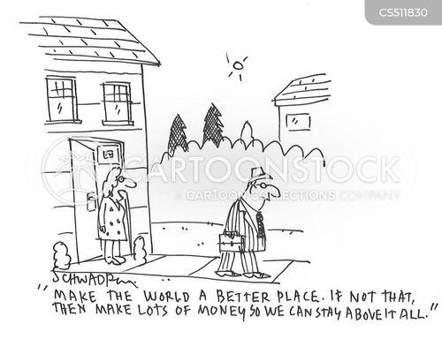 high earner cartoon