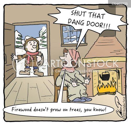 woodburners cartoon