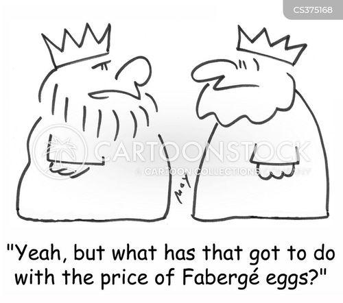 faberge eggs cartoon