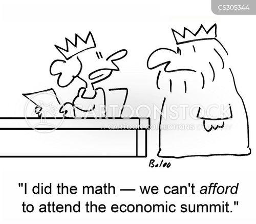 economic summit cartoon