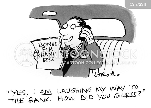 bonus payment cartoon