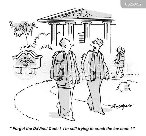 cracking the code cartoon