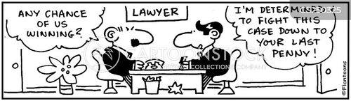 court fees cartoon