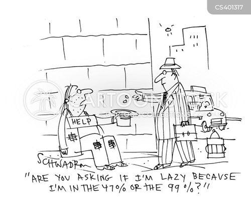 freeloading cartoon
