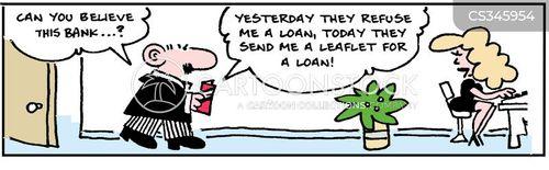 irresponsible lending cartoon