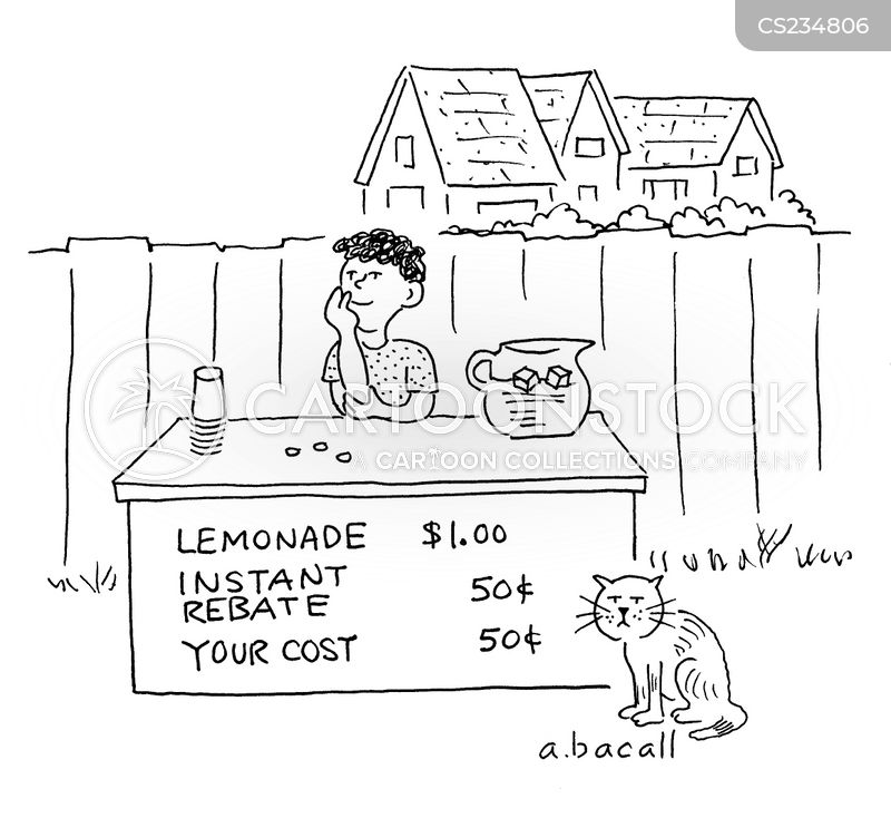 rebates cartoon