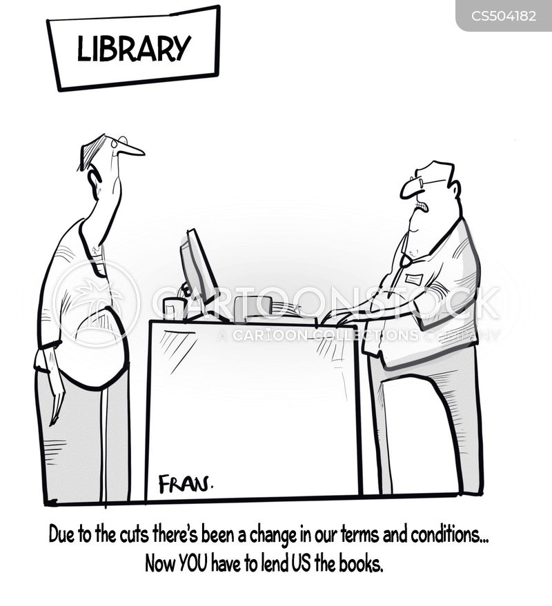 local authority budgets cartoon