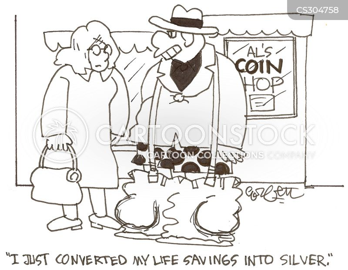 gold value cartoon
