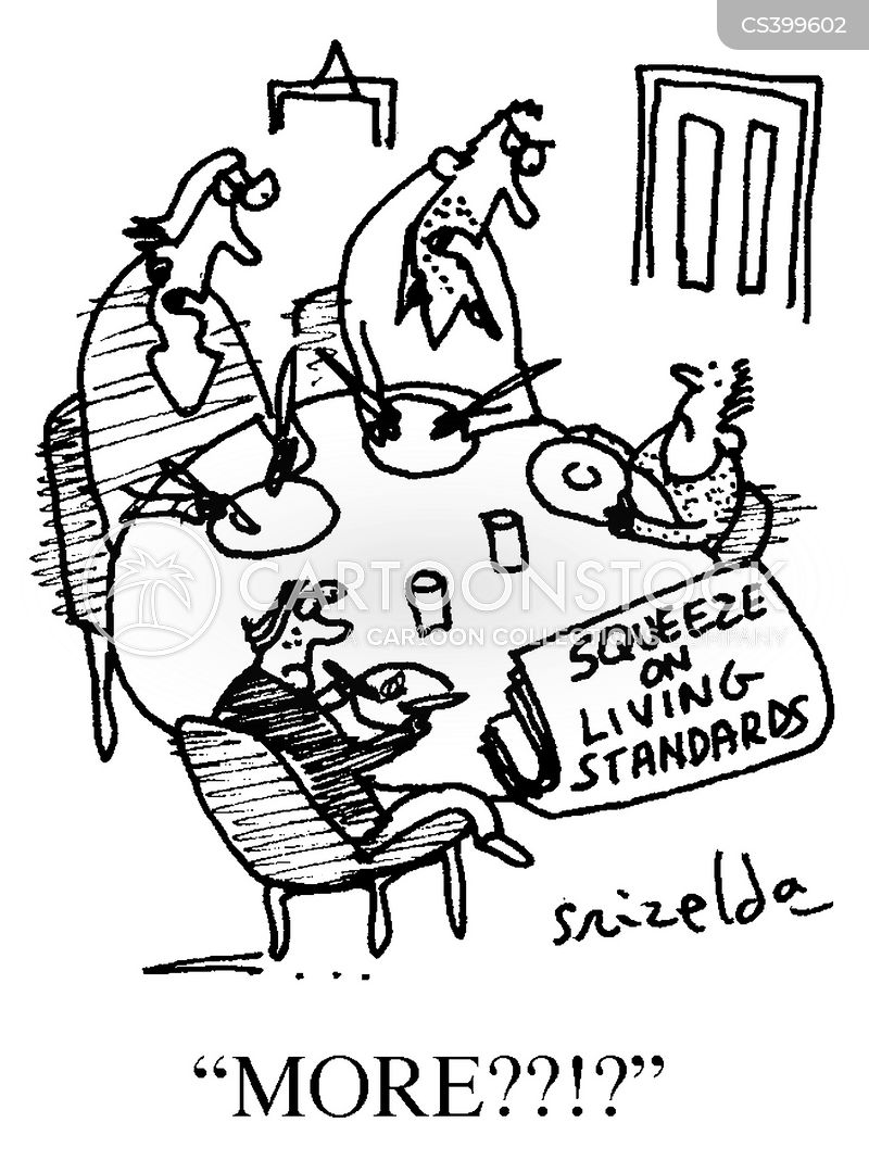 Living Standards cartoons, Living Standards cartoon, funny, Living Standards picture, Living Standards pictures, Living Standards image, Living Standards images, Living Standards illustration, Living Standards illustrations
