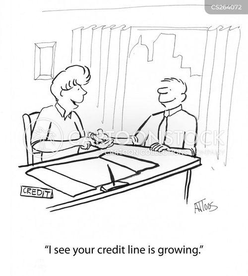 credit line cartoon