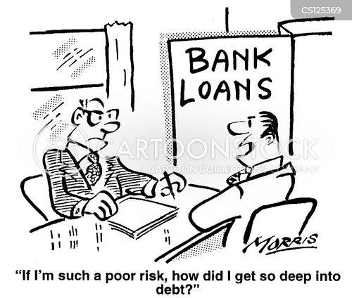 low risks cartoon