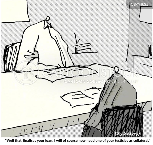 loan officials cartoon