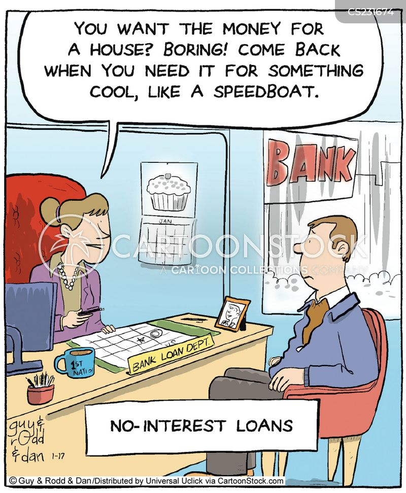 loan choice cartoon