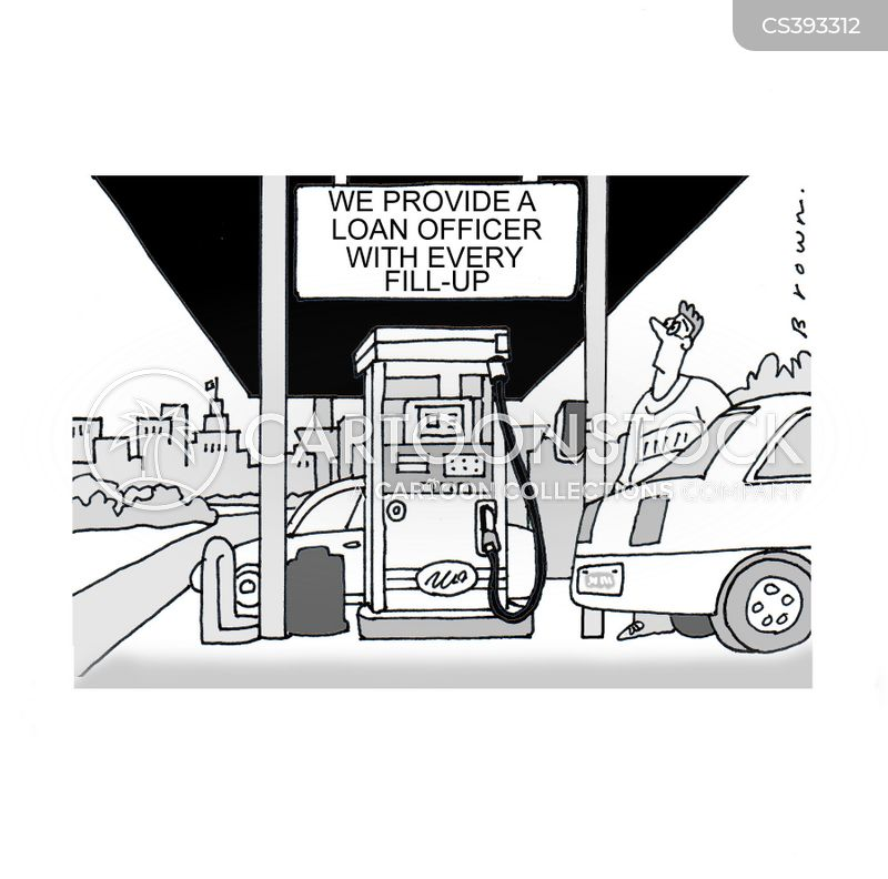 fuel pumps cartoon