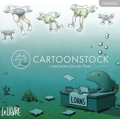 loanshark cartoon