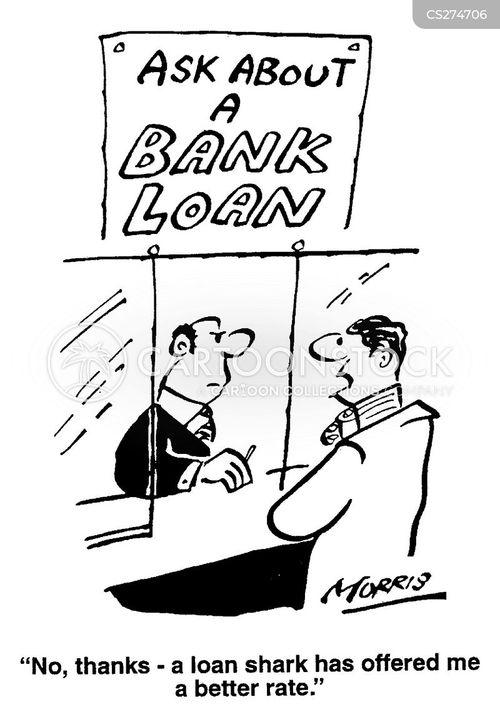 bank rates cartoon
