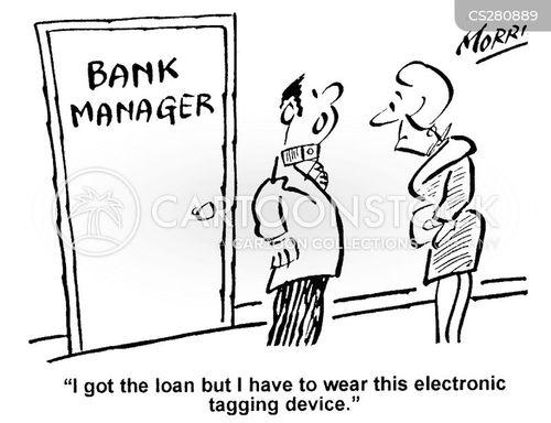 distrustful cartoon