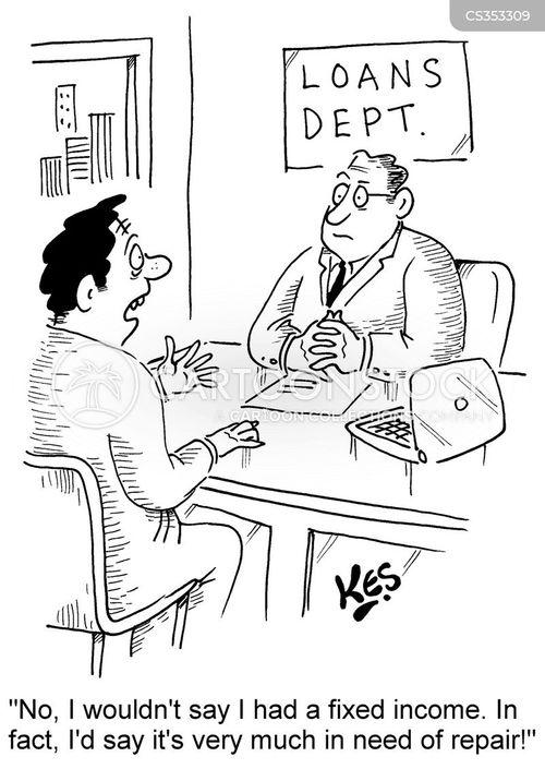 fixed income cartoon