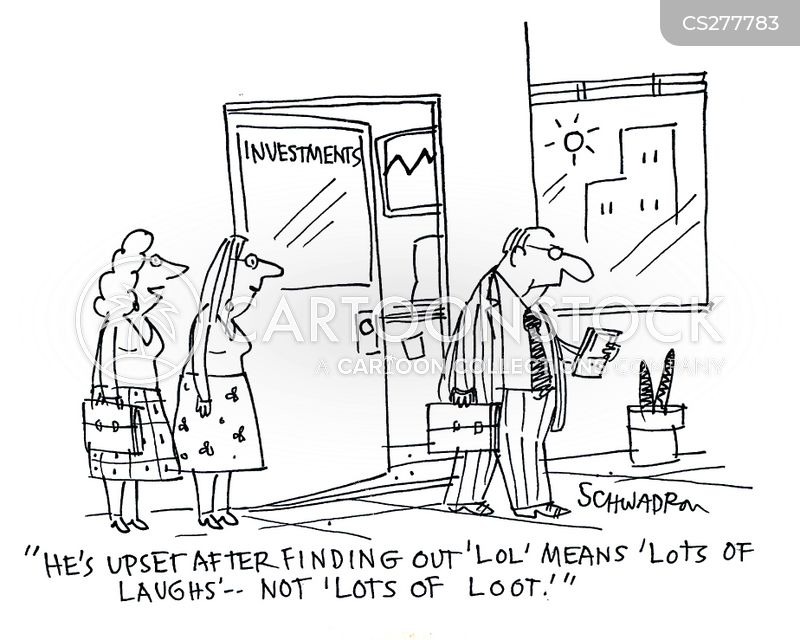 looting cartoon