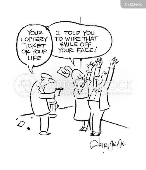 national lottery cartoon