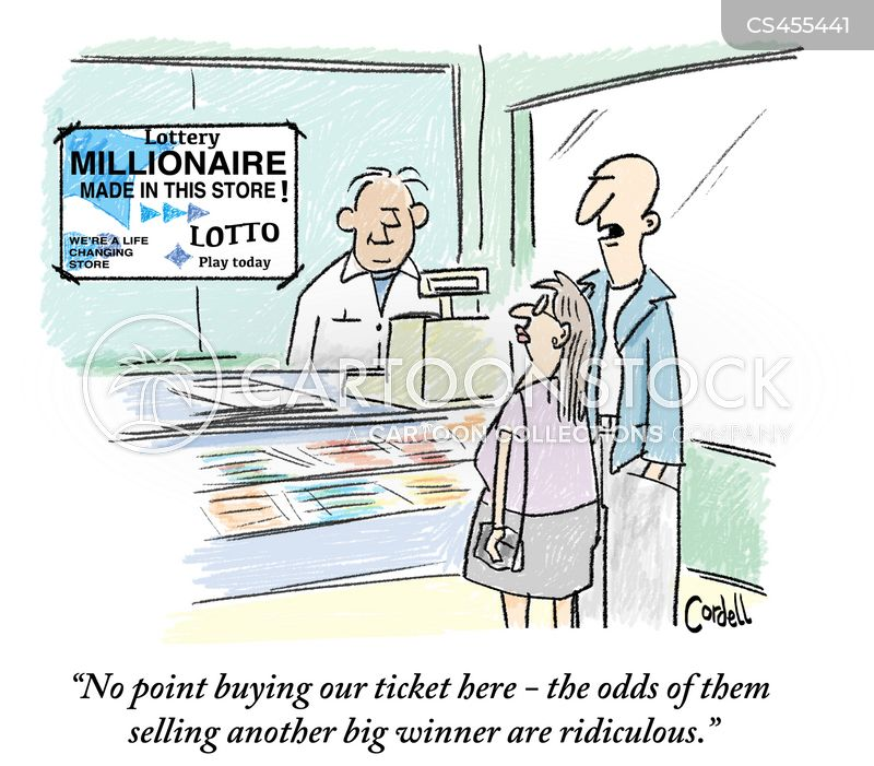 Lotto Cartoons and Comics - funny pictures from CartoonStock