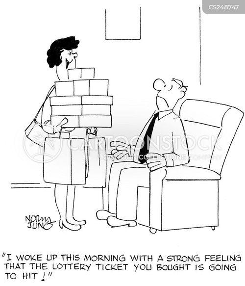 premonitions cartoon