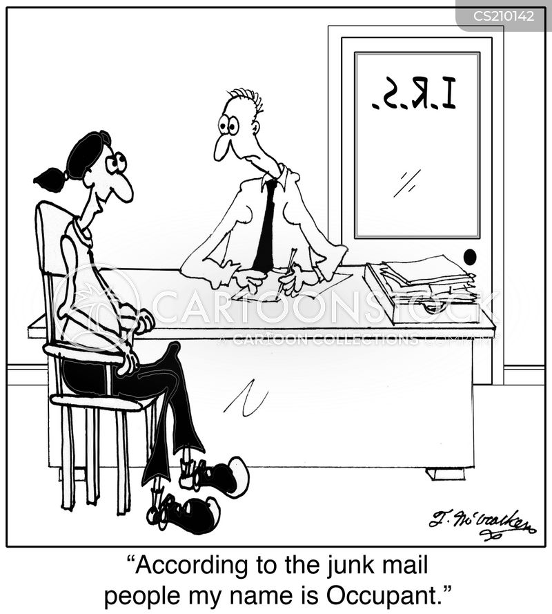occupants cartoon