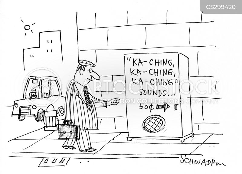 ka-ching cartoon