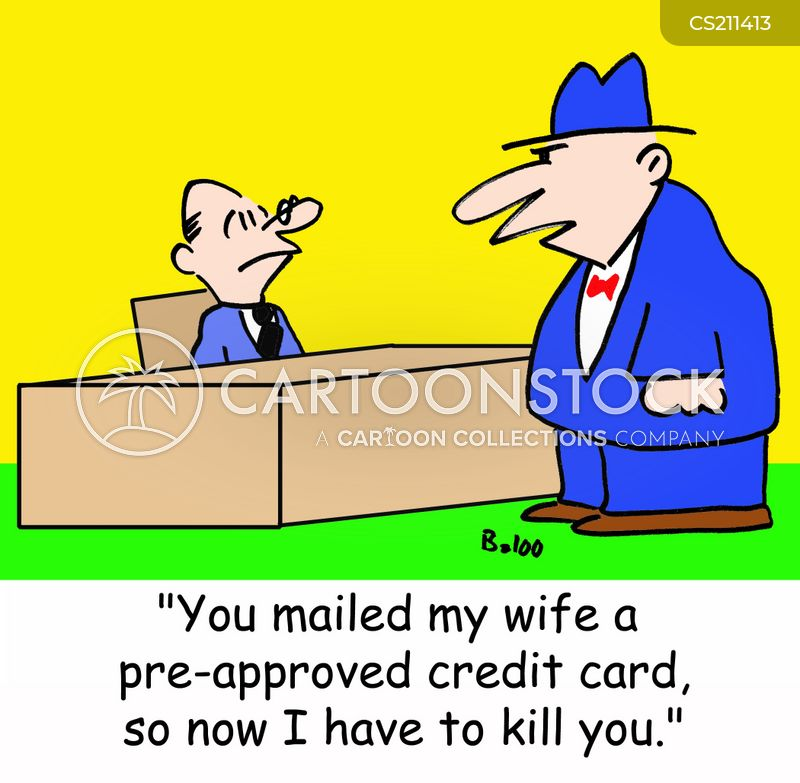 mailed cartoon