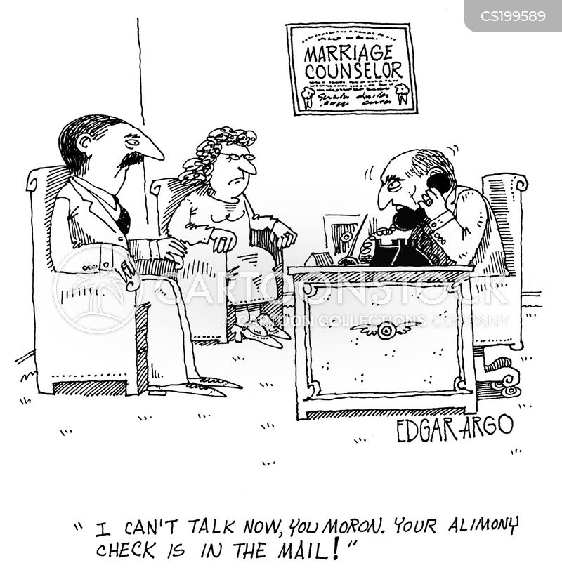 divorc cartoon