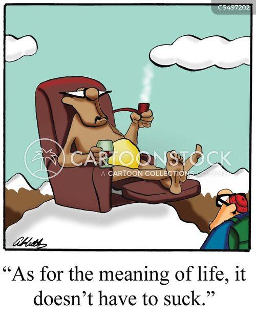 the good life cartoon