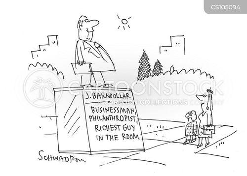 public figures cartoon