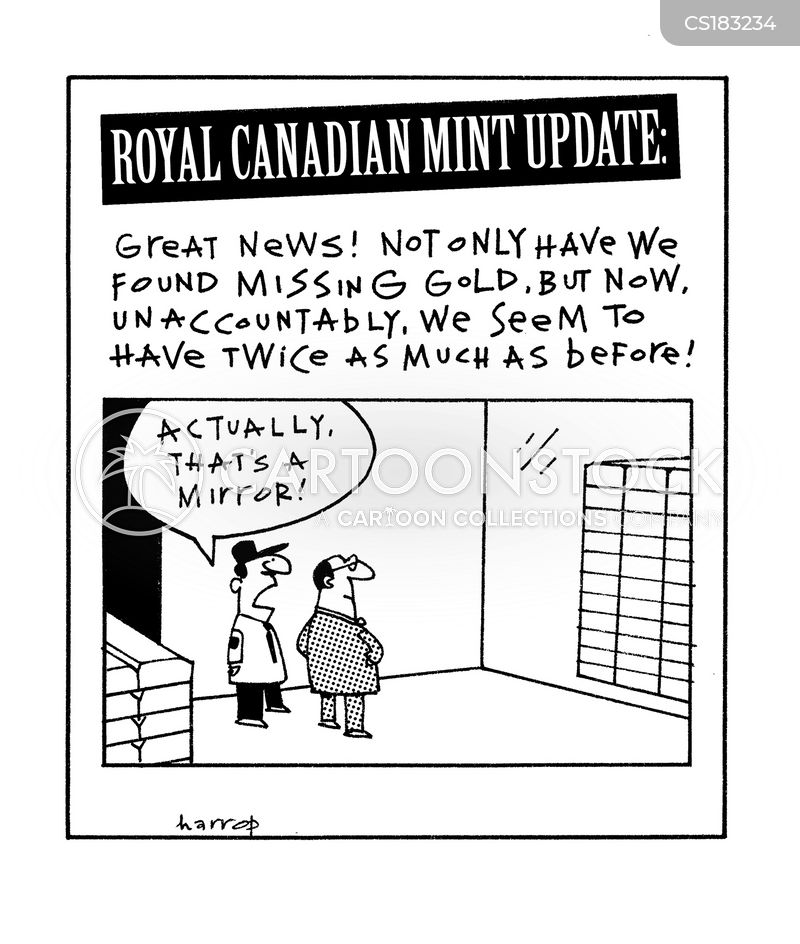 royal mint cartoon